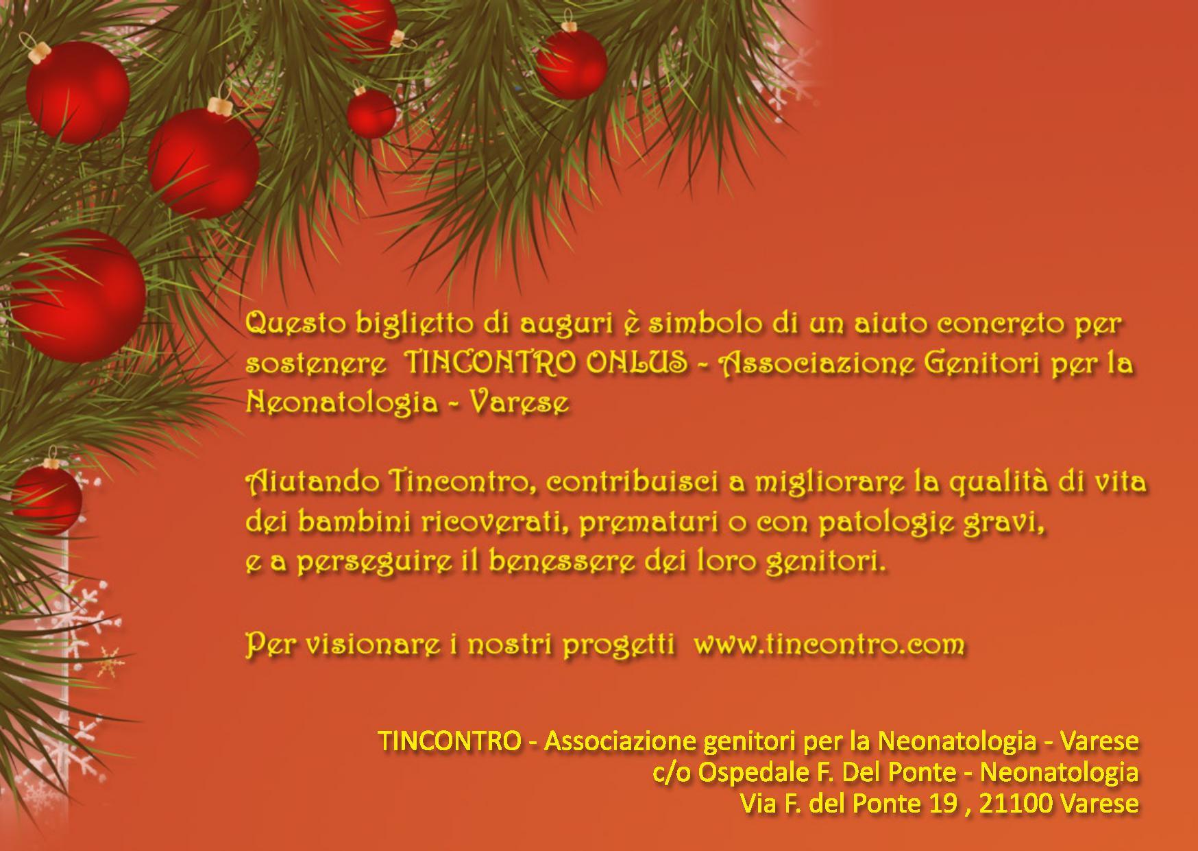 Popolare Biglietti Per Auguri Di Natale - Tincontro FW28