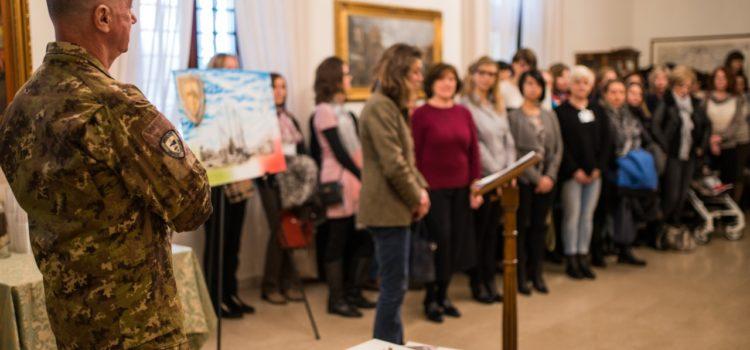 Donazione delle mogli dei militari della Nato Mara di Solbiate alla Neonatologia